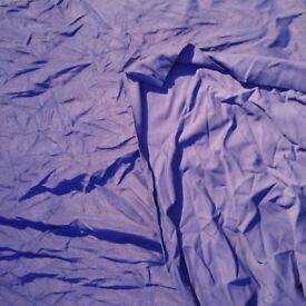 *Clearance* Stretchy/textured navy fabric. Approx 1m x 1.3m.