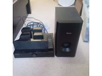 Fully functioning Pioneer DVD surround system including 5.1 speakers and subwoofer