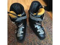 Ski boots made by Salomon