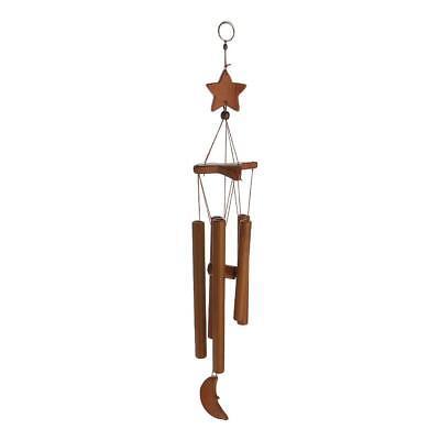 Bambú estrella 8 tubo de viento campanas móvil windchime campana de