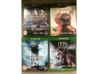 Xbox one Star Wars bundle x 4