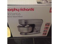 Morphy Richards Silver Stand Food Mixer, perfect condition