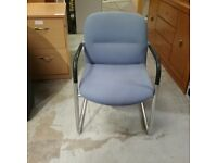 Kusch + co visitors chair in blue