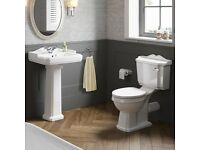 Traditional Toilet and sink set - Brand New