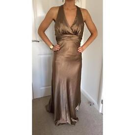 Champagne PROM/ bridesmaid dresses