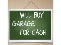 Will buy garage in Aberdeen City or near