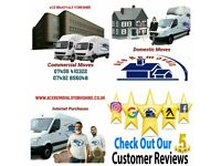 Ace Removals & Storage 2 man and van house removers van hire Leeds Removals Company Fully Insured