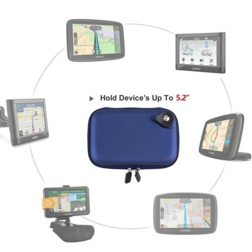 Waterproof 5.2″ Hard Carrying Storage Travel GPS Case Bag for 5-inch Garmin Nuvi Consumer Electronics