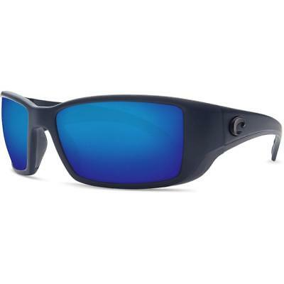 497b0068ed New Costa del Mar Blackfin Polarized Sunglasses Midnight Blue Mirror 580G  Glass