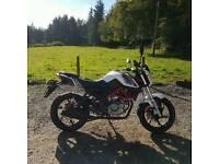 KSR 125cc motorbike for sale