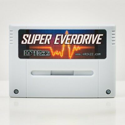 Super everdrive Nintendo SNES v2 Cart official krikzz free region Game
