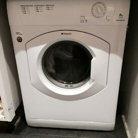 Hot point 8kg vented tumble dryer