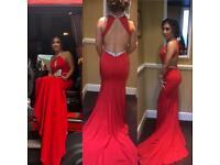 Prom Dress - Red