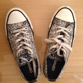 Converses size 36 - good condition