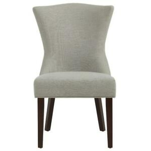 Grey Accent Chair w/ Coffee Legs Sale-WO 7719 (BD-2569)