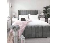 Double AnD KinG Size RoyaL WinG bed witH mattReSs option