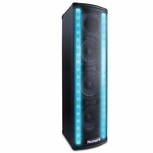 Open BOX - Numark Lightwave DJ Loudspeaker w/Built-in Beat Sync'd Light Show Dual LED Array