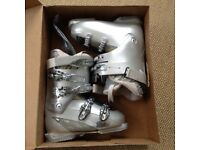 Head Edge+ Grey Silver Women's Ski Boots in excellent condition
