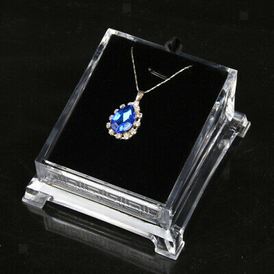 Perfeclan Acrylic Necklace Pendant Earring Transparent Jewelry Display Stand
