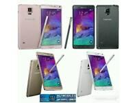 Brand New Orignal Samsung Galaxy Note 4 Uk Stock SM-N910F-32GB-Black,White(Unlocked)With Warranty