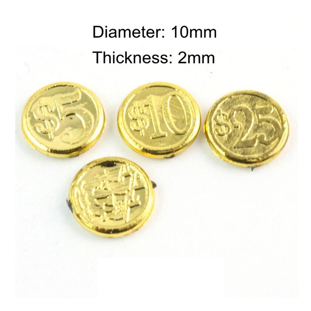 PF 1:6 1//6 Ratio Treasure Box Gold Coin Gold Coin Action Character Decoration