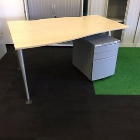 Herman Miller Wave Desk