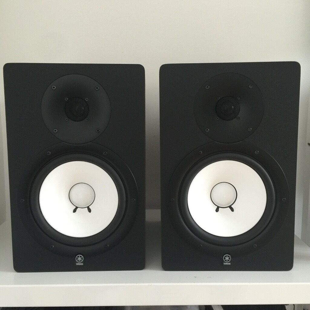 YAMAHA HS80M MONITOR SPEAKERS (PAIR)