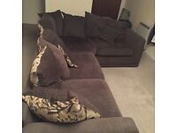 Great condition large L shape couch