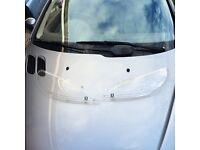 Peugeot 206 headlight protectors.