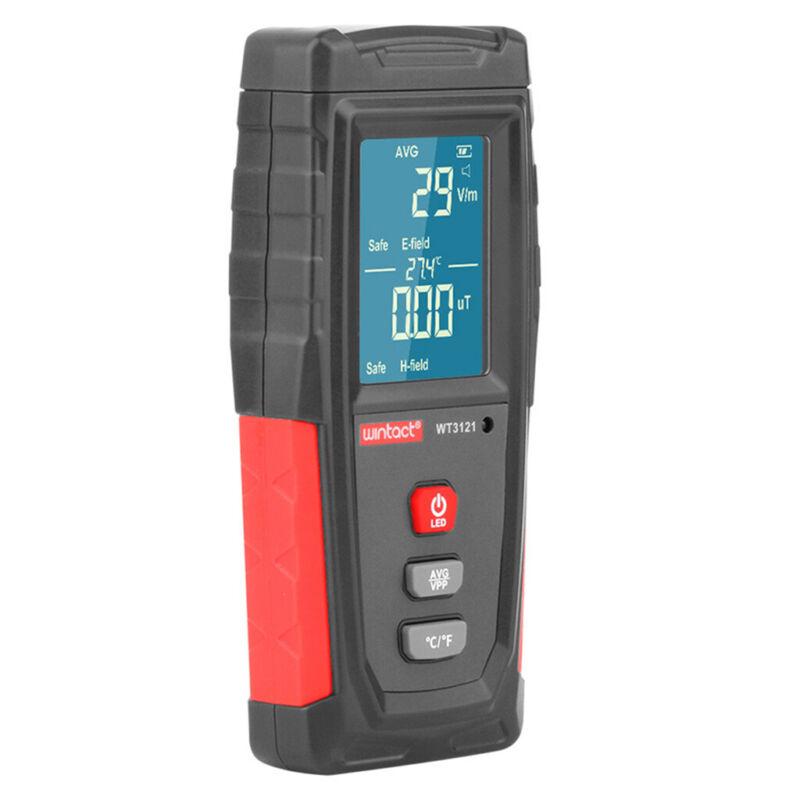 Industrial Radiation Detector Handheld Digital LCD EMF Tester Geiger Counter