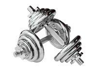 Body Power 20kg Chrome dumbbell set