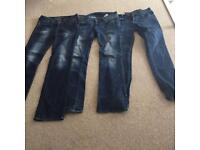 3 pack of womens designer jeans! RRP £200 for all of them new. Accept offers.