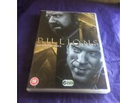 'BILLIONS' COMPLETE SERIES 1 DVD BOXSET- LIKE NEW