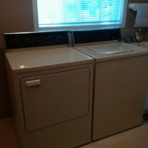 GE Washer & Dryer Excellent Condition