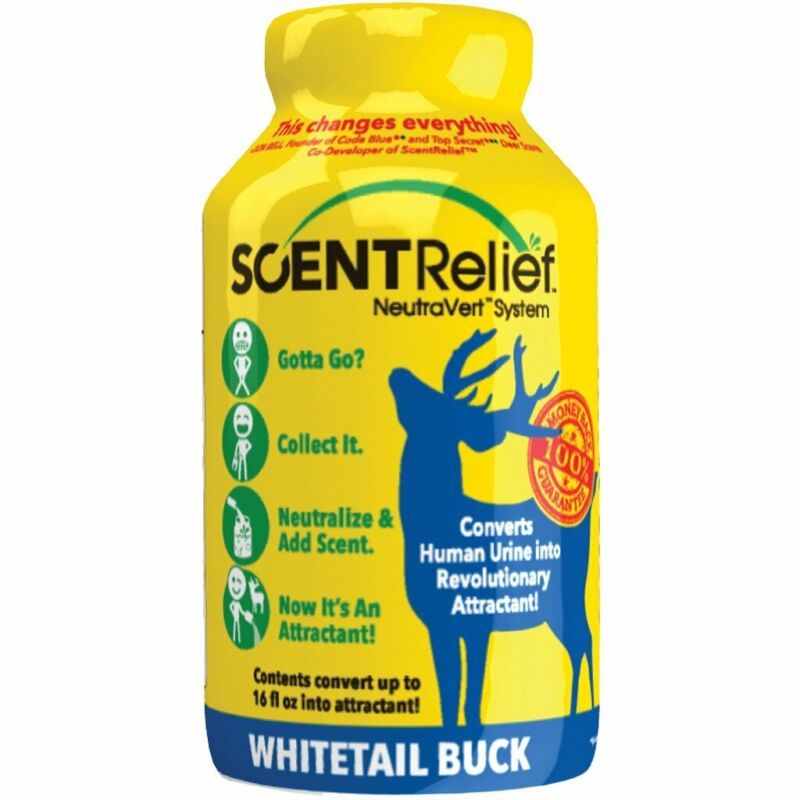 Scent Relief Whitetail Attractant Buck