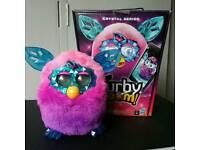 Furby Boom CRYSTAL Series Furby Pink/Purple