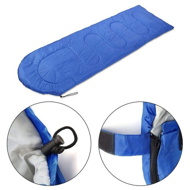 free shipping c2262 678a5 Lightweight Sleeping Bag | Breathable material | 2-Way Zip | Storage  Pockets | Carry Bag (Blue) | in Stratford, London | Gumtree