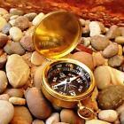 Reproduction Antique Maritime Brass Compasses