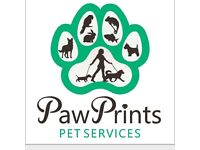 Paw Prints Dog Walking, Pet Visits and House Sitting