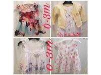 4 baby girls dresses