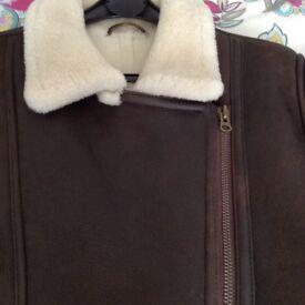 Ladies aviator jacket.