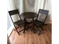 Garden Hardwood Bistro Table & Chair Set
