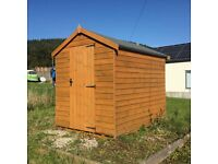 Garden shed 8x6, excellent condition.