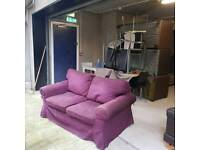 selection of 2 seater fabric sofa from Ikea £45 a piece