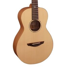 New Faith Guitars Naked Series FKM Mercury Parlour Acoustic Guitar