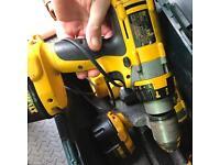 Dewalt XRP hammer drills DC984 x3 plus charger