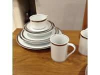 M&S dinner service. 10 place setting plus extras