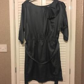Lipsy grey slate dress