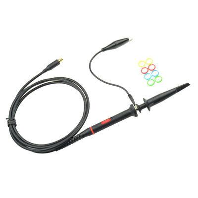 Mini Mcx Clip Probe Oscilloscope Test Lead Ground Wire With Alligator Clip