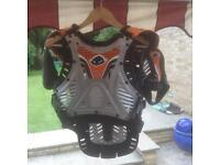 Ufo shield one body armour mx Orange ktm.